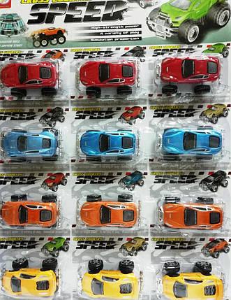 """Машинки на листе """"Speed"""", фото 2"""