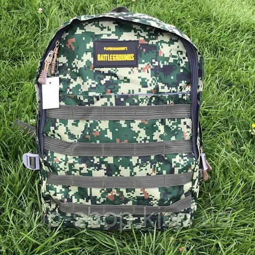 Городской и школьный рюкзак для мальчиков Battlegrounds хаки