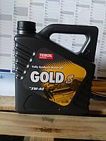 Моторное масло Teboil Gold S 5w-40 (4л.)/синтетика