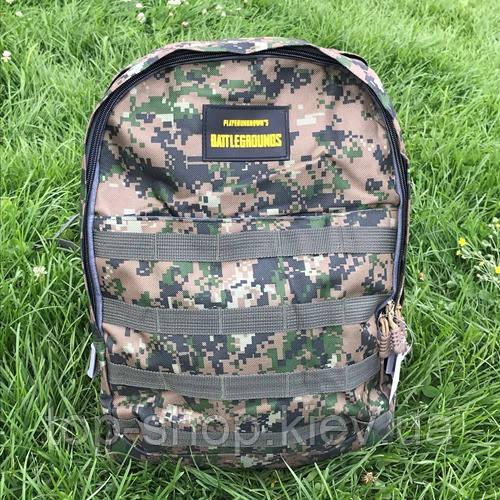 Городской и школьный рюкзак для мальчиков Battlegrounds камуфляжный