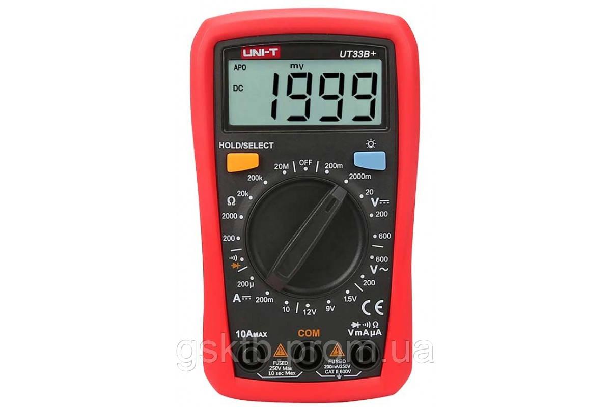 Мультиметр цифровой UNI-T UT33B+