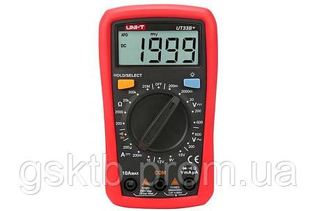 Мультиметр цифровой UNI-T UT33B+, фото 2