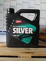 Моторное масло Teboil Silver 10W-40 (4л.)/полусинтетика для бензиновых и дизельных двигателей легковых авто