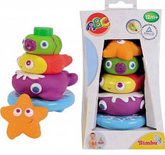Пирамидка с игрушками-брызгалками Simba