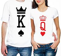 """Парные футболки """"King/Queen"""" (частичная, или полная предоплата)"""