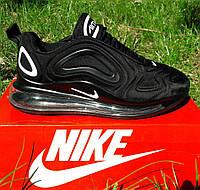 Кроссовки Мужские Nike Air Max 720 Чёрные Найк (размеры: 43,44) Видео Обзор