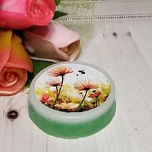 """Мыло с картинкой """"Полевые цветы"""""""