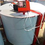 Медогонка 6-ти рамочная автоматическая под рамку Дадан. Модель 2 сенсорный блок управления, фото 2