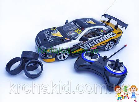 Игрушечная машинка для дрифта на радиоуправлении Nissan Skyline R34 GT3 (333-P012B), фото 2