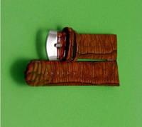 Ремешок для часов - Кожзам-R1-6( цвет коричневый)