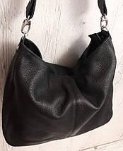 212 Натуральная кожа, Объемная сумка женская Сумка через плечо Кожаная сумка женская Кожаная сумка голубая, фото 3