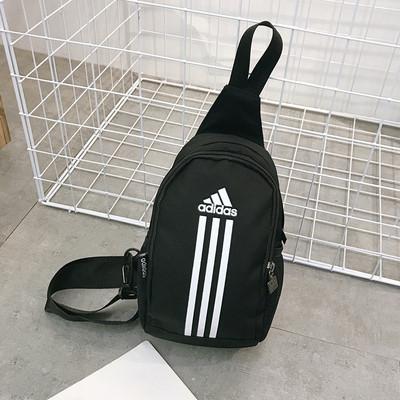 Сумка через плечо Adidas черная (реплика)