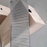 Корзина для забруса (FB плоская корзина) 1 метр, нержавеющая сталь