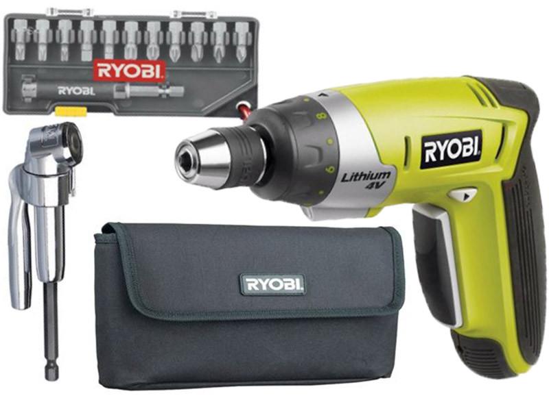 Аккумуляторная отвертка Ryobi CSD40Li