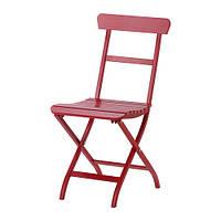 MÄLARÖ Садовый стул, складной красный