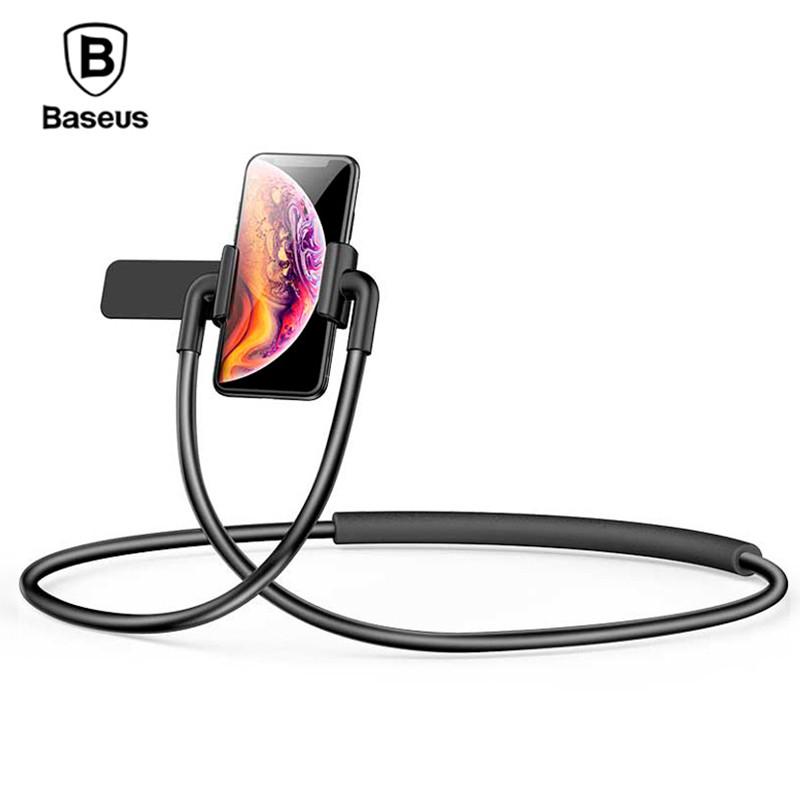 Держатель для телефона/планшета Baseus New Neck-Mounted Lazy SUJG-ALR0