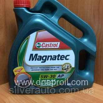 Моторное масло Castrol Magnatec 5W-30 АР 4 л., фото 1