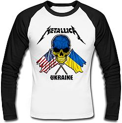 Футболка с длинным рукавом Metallica - Ukraine