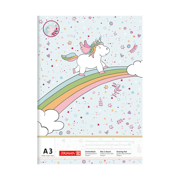 Альбом для малювання Fantasy А3 20 арк. 100 г/м2