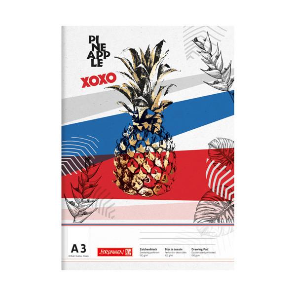 Альбом для малювання Pineapple А3 20 арк. 100 г/м2