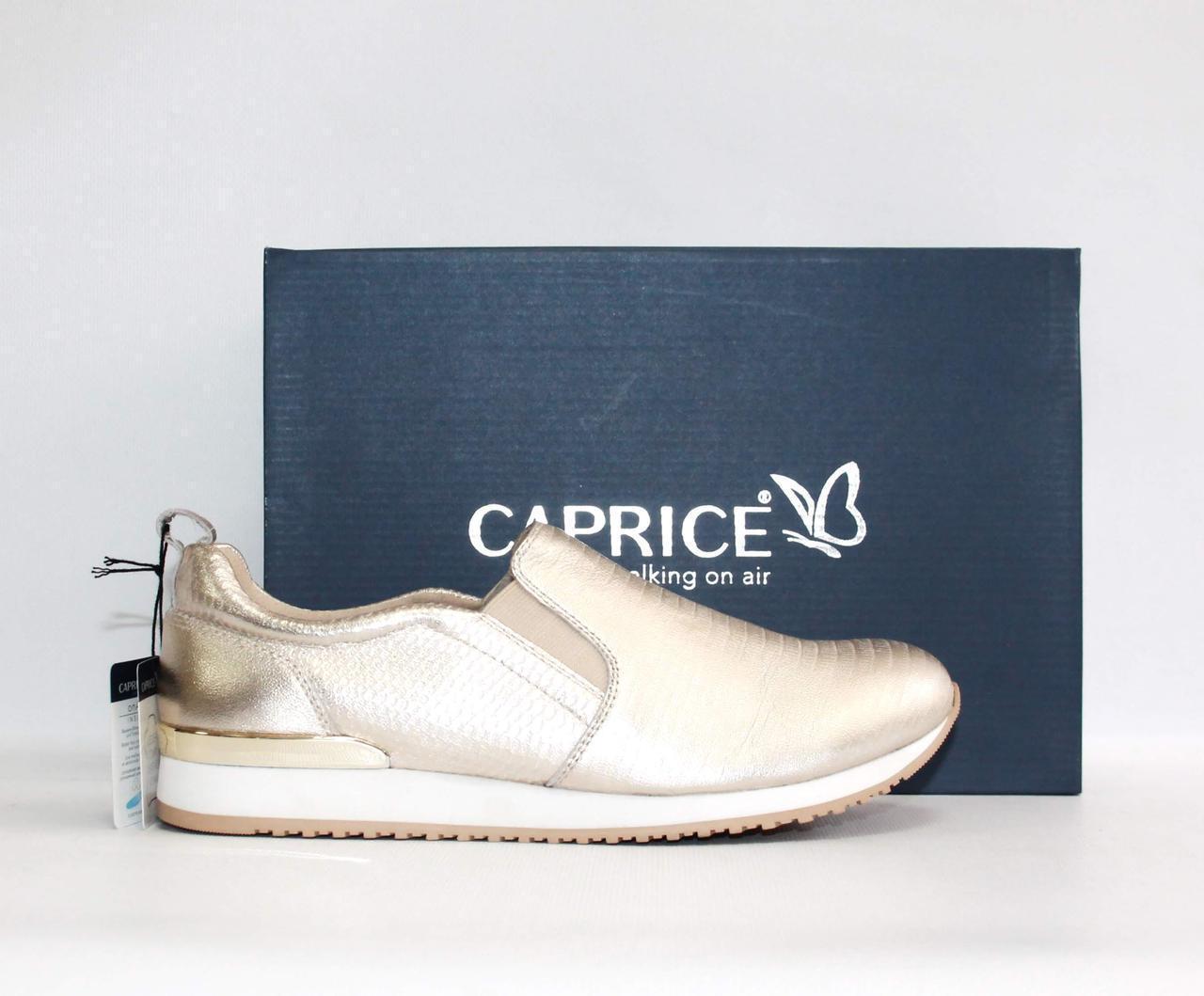 Женские слипоны Caprice Comfort оригинал Германия натуральная кожа 38