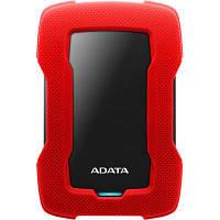 Зовнішній жорсткий диск 2Tb A-DATA AHD330-2TU31-CRD HD330 2,5 USB3.1 Red