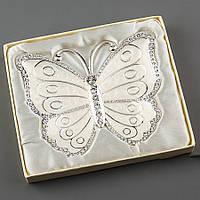Подставка для обучальных колец металическая в виде бабочки
