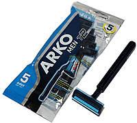 Станки для бритья ARKO MEN (5шт) одноразовые, фото 1