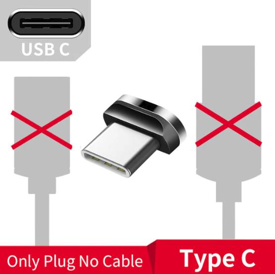 Коннектор USB TYPE-C для магнитного кабеля Essager быстрая зарядка Android Samsung Xiaomi