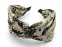 Прикраси для волосся обруч чалма тигровий