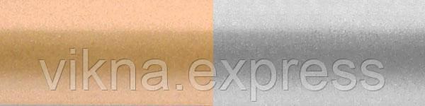 Жлюзі горизонтальні 908/937 золото срібло