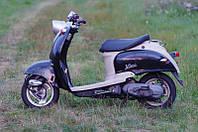 Скутер Yamaha Vino (черный с серым) 2Т, фото 1
