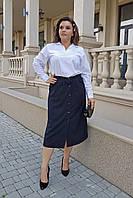 Женская юбка Пуговицы 0228