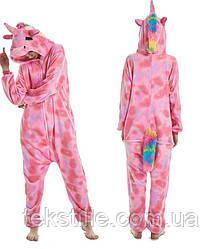 Кигуруми для дорослих Єдиноріг (Pink Dream)S. M.