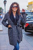 """Кардиган женский стильный букле, батал, размеры 48-62 (3цвета) """"LAVANDA"""" купить недорого от прямого поставщика, фото 1"""