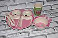 Посуда детская SOVA подарочный набор эко бамбук купить оптом со склада 7км Одесса, фото 2