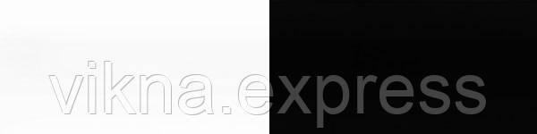 Жлюзі горизонтальні 101/814 біло чорні
