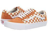 Кроссовки/Кеды Vans Old Skool Pro (Checkerboard) Golden Oak