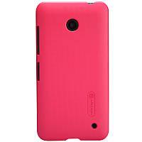 Чехол Nillkin для Nokia Lumia 630 красный (+пленка)