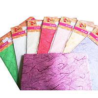 Рисовая бумага для декупажа Santi 50*70см 25г/м 9527**_голубой
