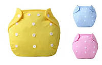 Многоразовый детский подгузник зимний 3-13 кг с вкладышами 2шт, фото 1