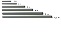 Правило алюминиевое 1м, SPEKTRUM