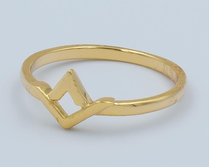 XUPING Кольцо Позолота 18к  Размер 16,16.5,17.5,18.5,19,19.5