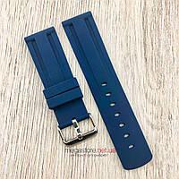 Каучуковый ремешок для часов размер 20 | 22 | 24 мм синий (08127), фото 1