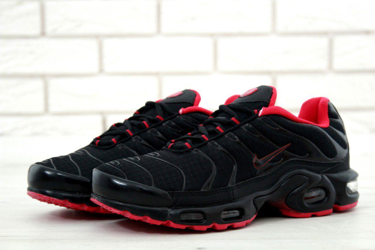 Кроссовки Nike Air Max TN реплика ААА+ размер 45 черный, фото 1