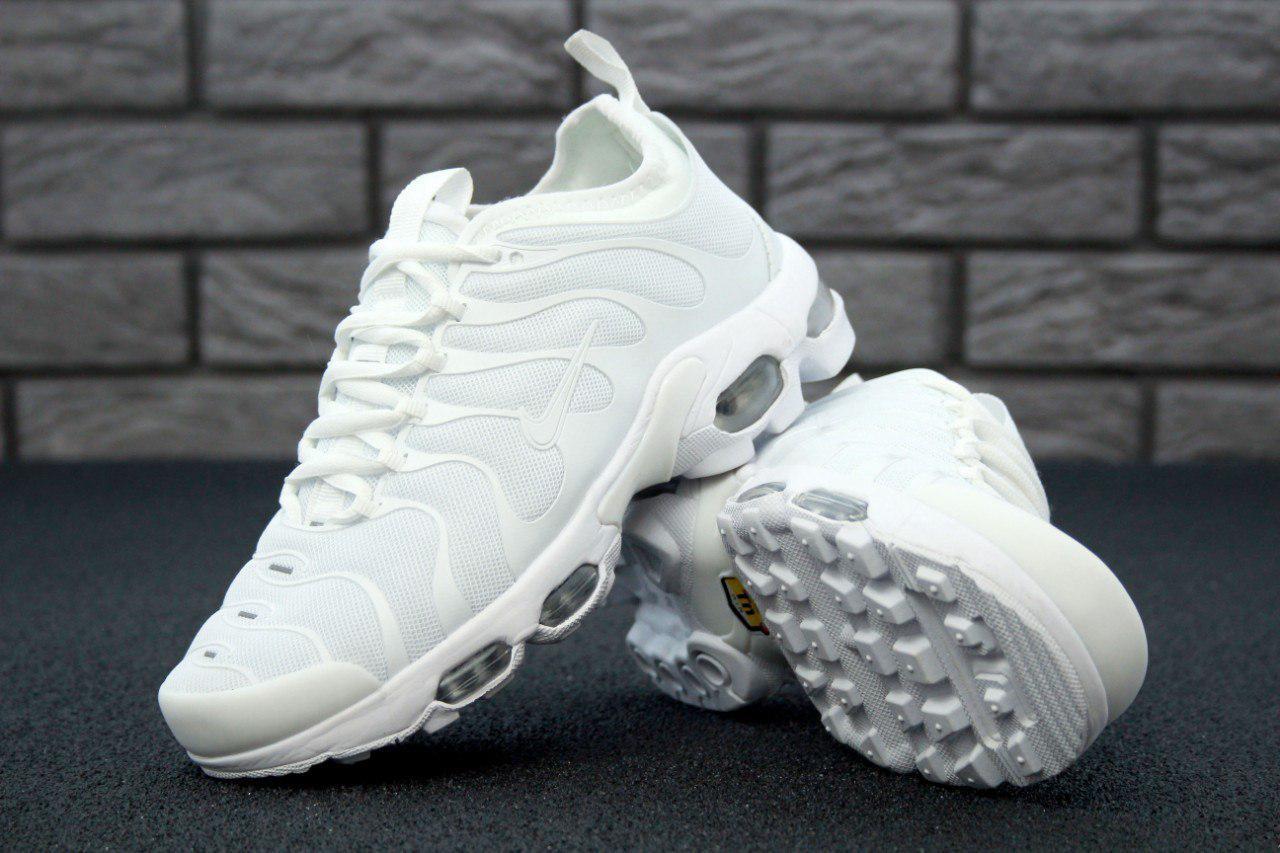 Кроссовки Nike Air Max TN реплика ААА+ размер 39-40 белый, фото 1