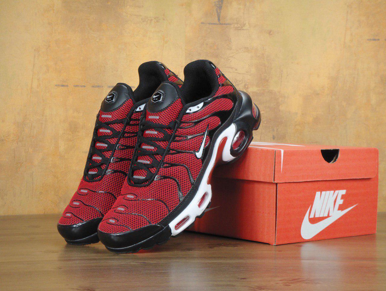 Кроссовки Nike Air Max TN реплика ААА+ размер 40-42,46 красный, фото 1