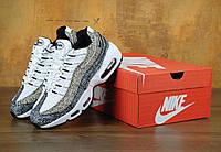 Кроссовки Nike Air Max 95 реплика ААА+ размер 37-38,40-42,44 серый (живые фото), фото 1