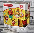 Посуда детская ТРИ КОТА подарочный набор 3ка купить оптом со склада 7км Одесса, фото 3