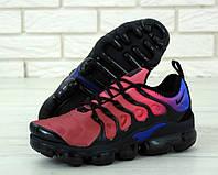 Кроссовки мужские Nike Air VaporMax реплика ААА+ размер 41-45 красный (живые фото), фото 1